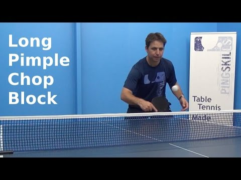 how to return topspin serve in table tennis