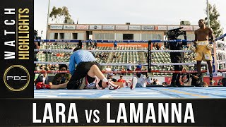 Lara vs Lamanna HIGHLIGHTS: May 1, 2021 - PBC on FOX