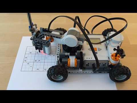 Résoudre les sudoku avec des LEGO Mindstorms