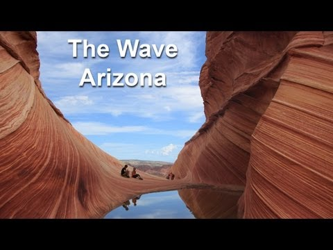 3D Hike to The Wave at Coyote Buttes - Paria Canyon, Arizona by AdventureArt