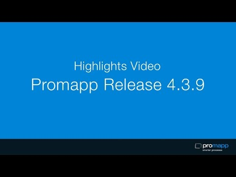 Promapp Release Video v4.3.9 - Process Costing
