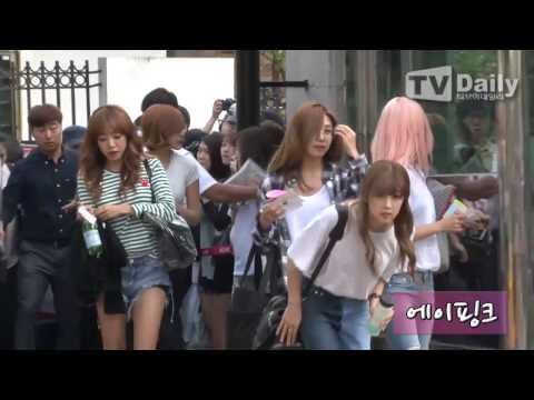 [tvdaily] ★소녀시대-걸스데이-에이핑크★ 개성만점 사복패션