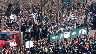 City of Brotherly Love Celebrates Philadelphia Eagles Super Bowl Win