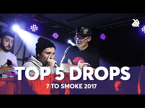 TOP 5 DROPS 😱 Grand Beatbox 7 TO SMOKE Battle 2017