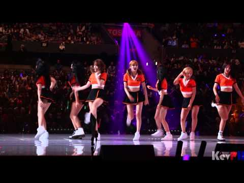 AOA KCON 2015 LA Talk - Confused - Like A Cat - Miniskirt