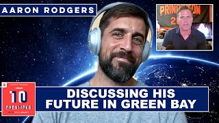 Aaron Rodgers on the Future of the Packers' Quarterback Position | 10 Questions With Kyle Brandt