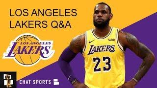 Lakers Rumors: Quinn Cook Trade, Avery Bradley's Return & Kyle Kuzma's Role | Lakers Mailbag
