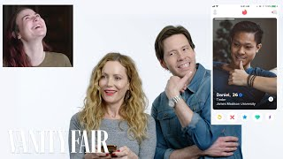 Leslie Mann and Ike Barinholtz Hijack a Stranger's Tinder   Vanity Fair