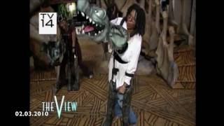 The View's Whoopi Goldberg in The Lion King