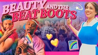 Beauty And The Beat Boots by Todrick Hall