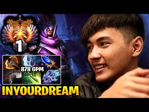 Inyourdream Anti Mage with Aghanim's Scepter Safelane Carry