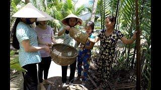 Em gái Bến Tre thi đặt cá bống dừa - Hương vị đồng quê - Miền Tây