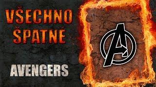 Všechno špatné ve filmu Avengers