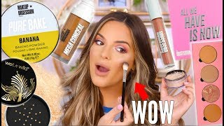 I THINK I JUST FOUND MY NEW HOLY GRAILS... NEW DRUGSTORE MAKEUP TESTED | Casey Holmes