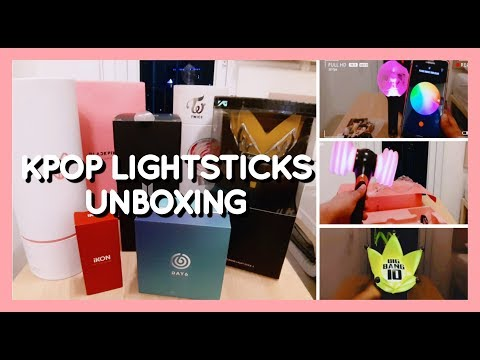 UNBOXING: KPOP Lightstick Collection 2019