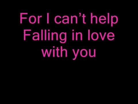 ♫Can't Help Falling In Love_ Andrea Bocelli & Kathrine McPhee_With Lyrics♫