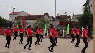 Nhảy mừng thọ thôn Triều 2020