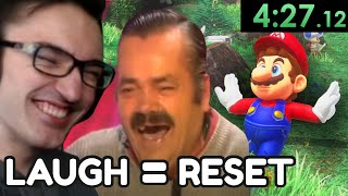 If chat makes me laugh I reset the speedrun