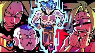 DBFZ - Ultra Instinct Goku Boss Raid Is Impossible!! (PART 1)