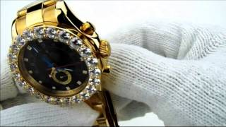 Yacht Master Rolex w/ custom bezel & lab diamonds- Music produced by @mister973