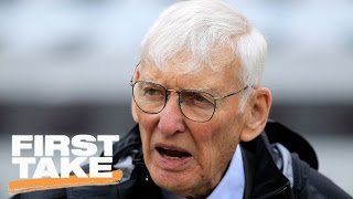 Stephen A. Smith Remembers Dan Rooney | First Take | April 14, 2017