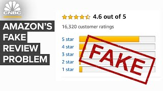 Why Amazon Has A Fake Review Problem