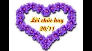 Lời chúc 20 tháng 11 hay và ý nghĩa gửi tặng thầy cô