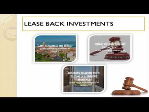 French Leaseback - French English Speaking Lawyer