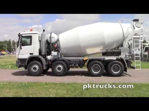 me3748 - MERCEDES-BENZ Actros 3540 8x4 with STETTER 10 cbm cement mixer - NEW