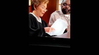Putting one over on Judge Judy