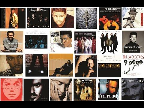 R&B/Soul 90's, 80's Slow Jams (Part 1) Feat. Babyface, Nelson Lee, Alexander O'Neal, Boyz II Men...