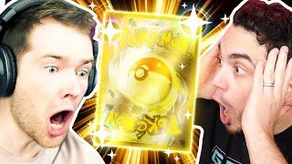 DANTDM pulled the GOLDEN POKEMON CARD! Absolutely INSANE!