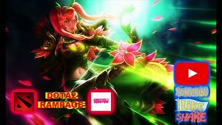 DOTA2 RAMPAGE: Pro WindRanger EZ Mid and Best Team Fight
