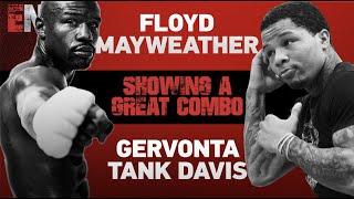 EXCLUSIVE FOOTAGE: Floyd Mayweather Training Gervonta Davis | ESNEWS Boxing