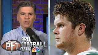 What Sam Darnold's absence means for Gase, New York Jets | Pro Football Talk | NBC Sports