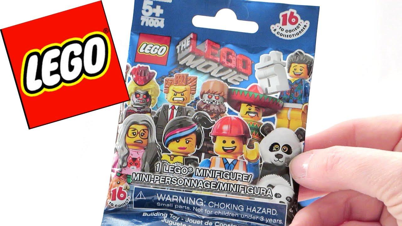 Lego Movie Minifig Blind Bags Youtube