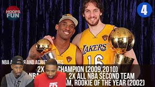TOP 10 INTERNATIONAL NBA PLAYERS OF ALL TIME REACTION