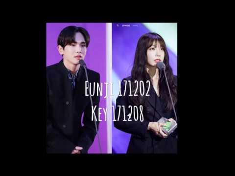 SHINee Key and  Apink Eunji Moments