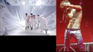 Sexy KPOP Boy Groups Dancing Compilation - Gay theme - AREA51su Blog Video