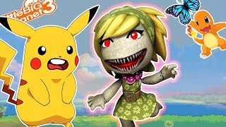 Pikachu Escapes *Secret Ending*  LittleBigPlanet 3