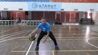 美國街頭籃球球星格雷森·包契爾(Grayson Boucher)-professor 示範運球技巧