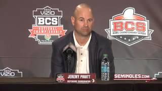 Jeremy Pruitt Press Conference: January 2
