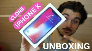 Goophone Unboxing   CLONE di iPHONE X è arrivato!