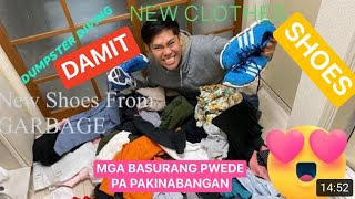 DUMPSTER DIVING CLOTHES with PRICETAG