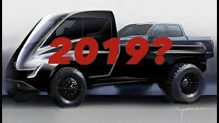 Tesla Pickup Unveil In 2019?