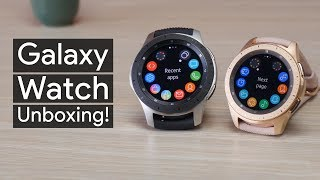 Samsung Galaxy Watch unboxing: is this the prettiest smartwatch ever made?