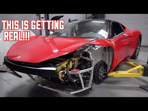 Ferrari 458 Ready to RUN! Radiators + Fans Mounted!