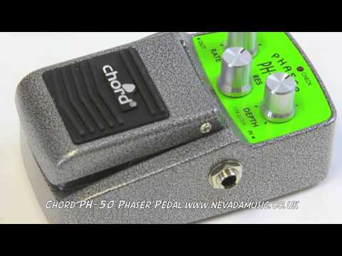 Chord PH-50 Budget Phaser Pedal Quick Demo - Nevada Music UK