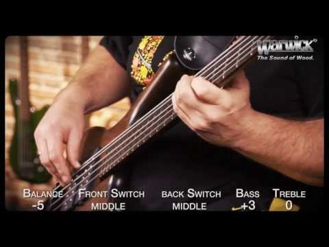 Warwick Soundexamples: The Corvette $$ NT 5 string