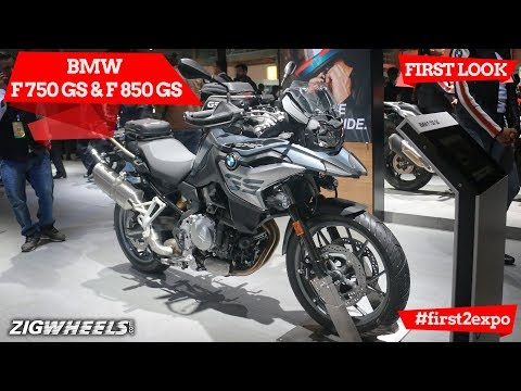 BMW F 750 GS and BMW F 850 GS At Auto Expo 2018: First Look